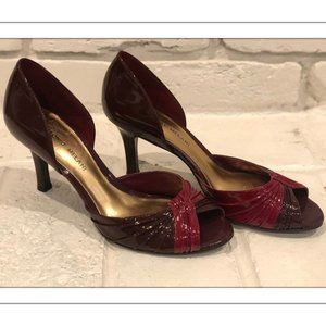 Vintage 80s Antonio Melani Patent Leather Heels